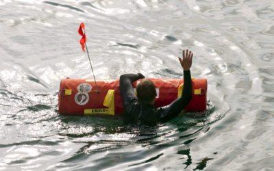 In Castricum aan Zee worden drenkelingen nu gered door een robot